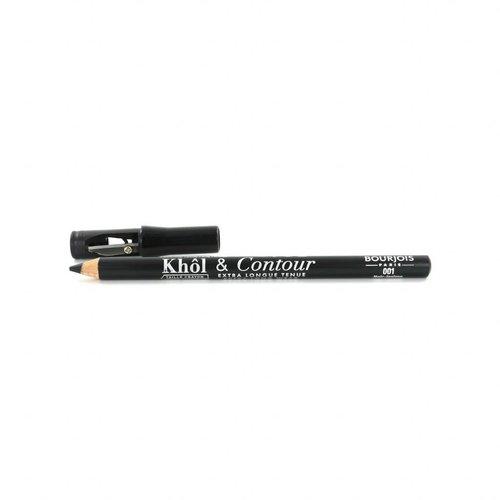 Bourjois Khol & Contour Oogpotlood - 001 Noir-Issime (met puntenslijper)