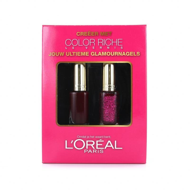 L'Oréal Color Riche Duo Nagellak - Roze