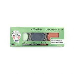 Pure Clay Multi-Masking Mini Kit Maskers - 3 x 10ml