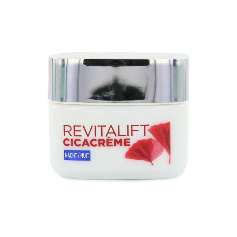 L'Oréal Revitalift Cicacrème - Herstellende Nachtcrème