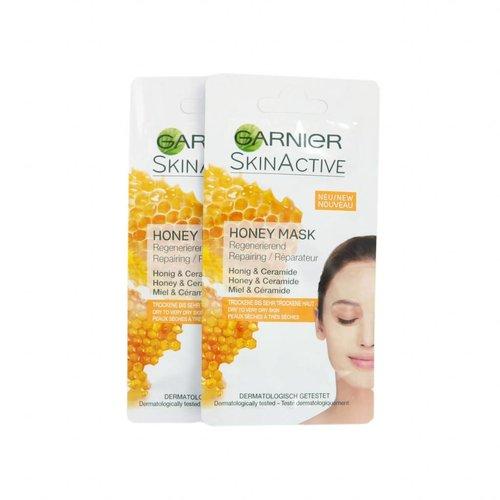 Garnier SkinActive Honey Masker - 2 x 8 ml (droge tot zeer droge huid)