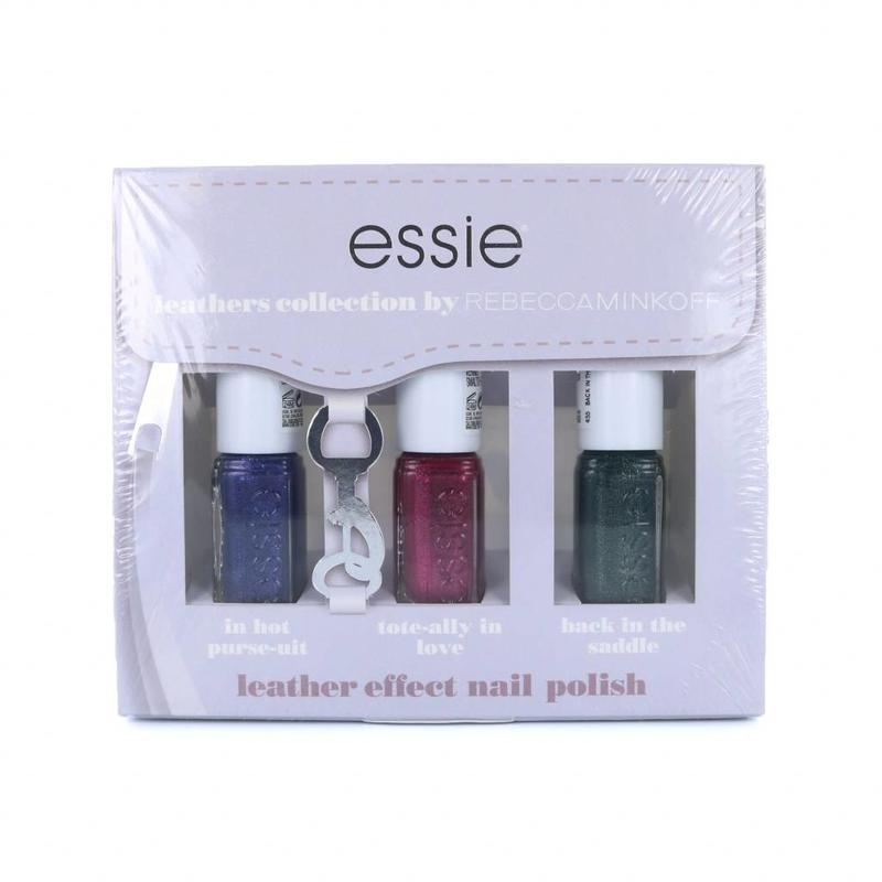 Essie Leathers Collection Mini-Nagellack-Set 1 By Rebecca Minkoff - 3 x 5 ml