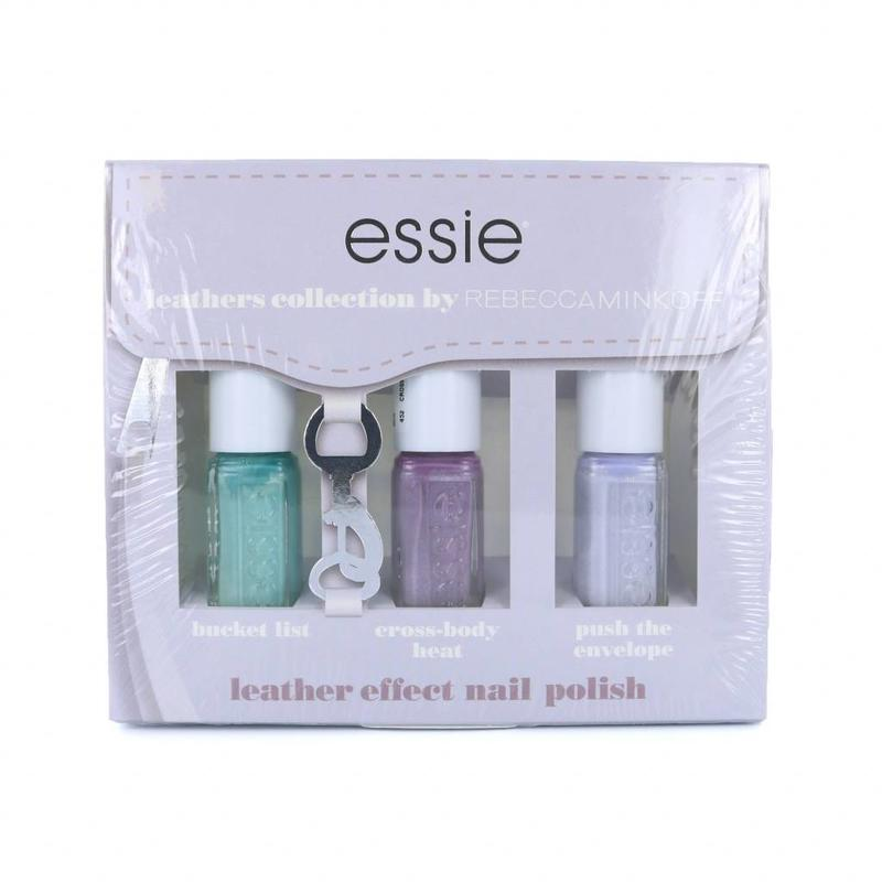 Essie Leathers Collection Mini-Nagellack-Set 2 By Rebecca Minkoff - 3 x 5 ml