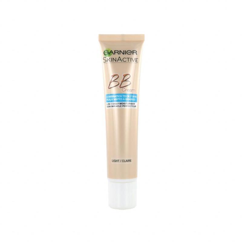 Garnier Skin Active BB Cream Gemengde Tot Vette Huid - Light