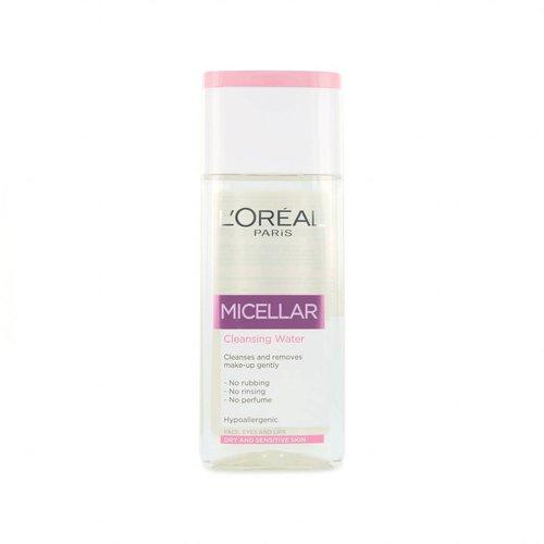 L'Oréal Micellar Cleansing Water - 200 ml (voor droge en gevoelige Huid)