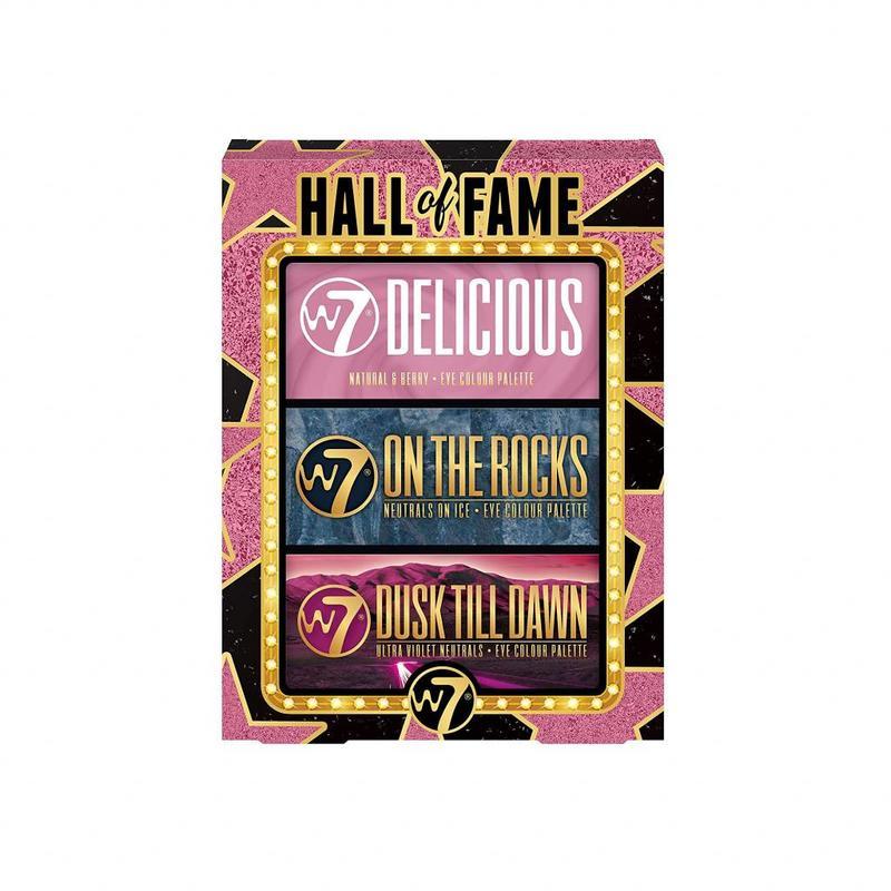 W7 Hall of Fame Oogschaduw Cadeauset