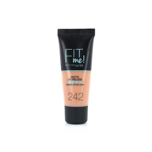 Maybelline Fit Me Matte + Poreless Foundation - 242 Light Honey
