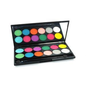 I-Divine Oogschaduw Palette - Ultra Mattes V1 Brights