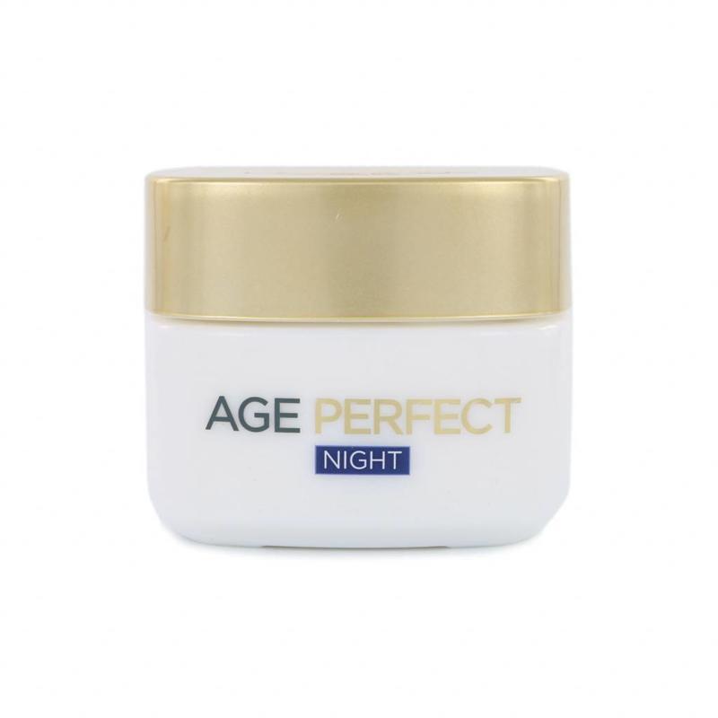 L'Oréal Paris Age Perfect Nachtcrème (Tsjechische Tekst)