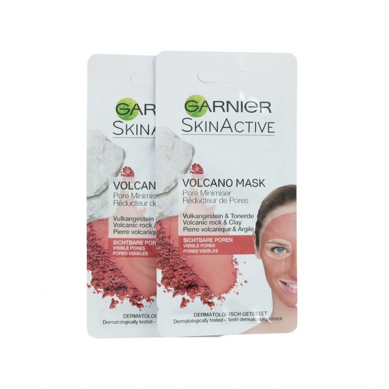 Garnier Skin Active Pore Minimizer Volcano Masker - 2 x 8 ml