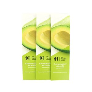 Crème Masker Avocado Normale Huid (3 Stuks)