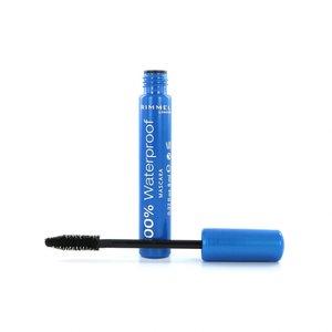 100% Waterproof Mascara - 001 Black Black