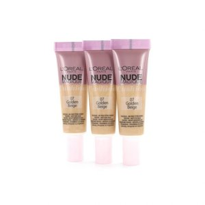 Nude Magique Cushion Dewy Glow Foundation - 07 Golden Beige (Testers 3 x 8 gr)