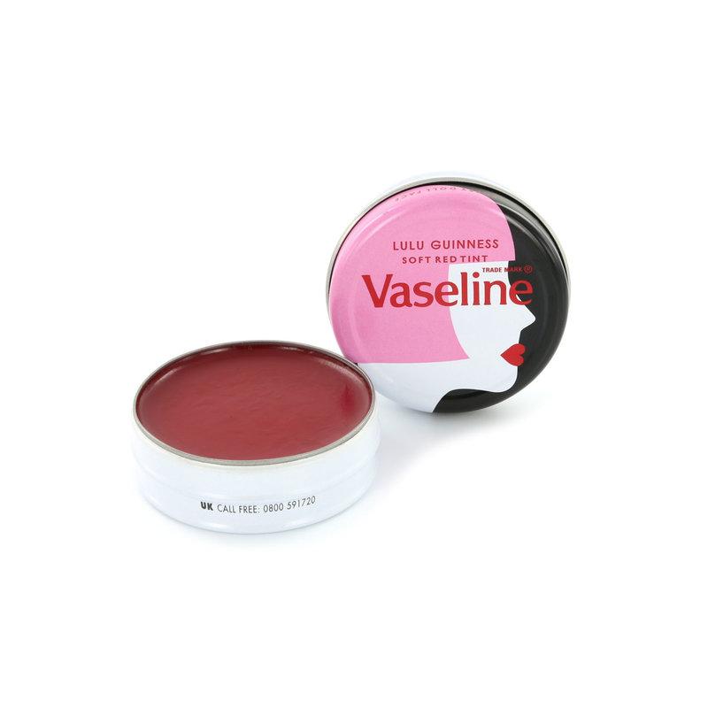 Vaseline Lip Balm Lulu Guinness Soft Red Tint - 2 Stuks