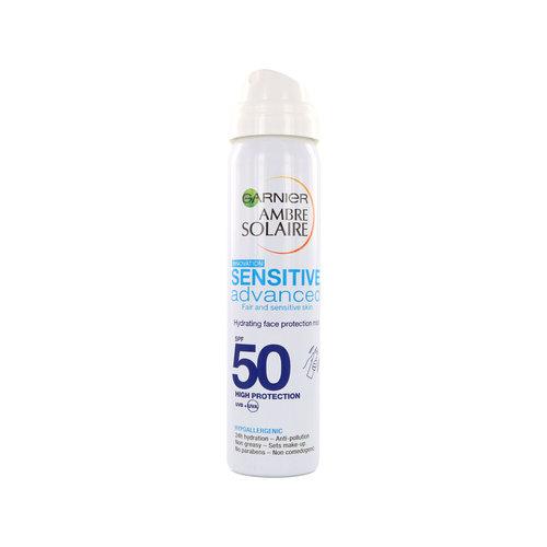 Garnier Ambre Solaire Sensitive Advanced Face Protection Mist (SPF 50)