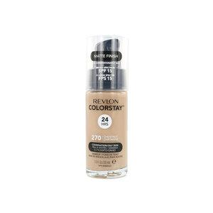 Colorstay Matte Finish Foundation - 270 Chestnut (Combination/Oily Skin)