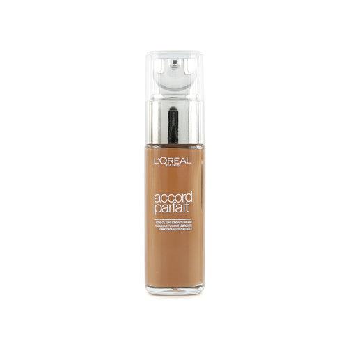 L'Oréal Accord Parfait Foundation - 8.R/8.C Nut Brown