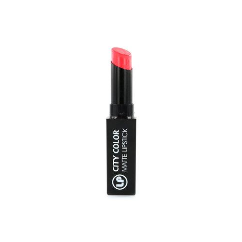 Laura Paige City Color Matte Lipstick - 1 Coral Reef