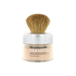 True Match Minerals Poeder Foundation - D4.W4 Golden Natural