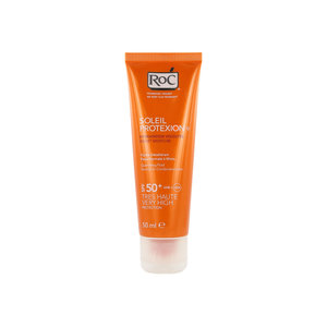 Soleil Protection Velvet Moisture Suncream for Face (SPF 50+)