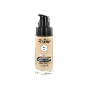 Colorstay Matte Finish Foundation - 180 Sand Beige (Combination/Oily Skin)