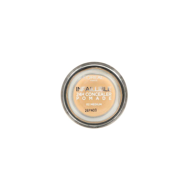 L'Oréal Infallible Concealer Pomade - 02 Medium
