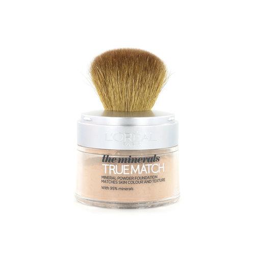 L'Oréal True Match Minerals Poeder Foundation - N3 Creamy Beige