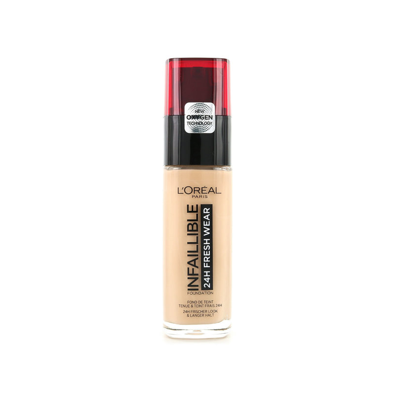 L'Oréal Infallible 24H Foundation - 135 Radiant Vanilla