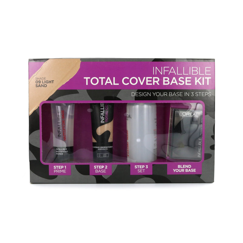 L'Oréal Infallible Total Cover Base Kit - 09 Light Sand