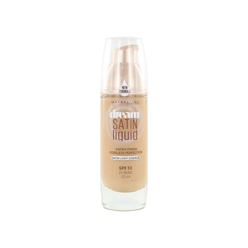 Maybelline Dream Satin Liquid Foundation - 21 Nude