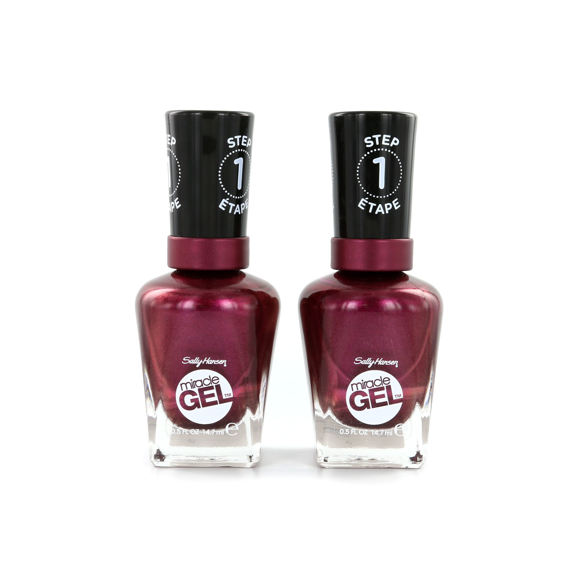 Sally Hansen Miracle Gel Nagellack 2 Stuks - 063 Frosted Berries