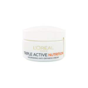 Triple Active Nutrition Anti-Dryness Cream - Anti-Dryness Cream