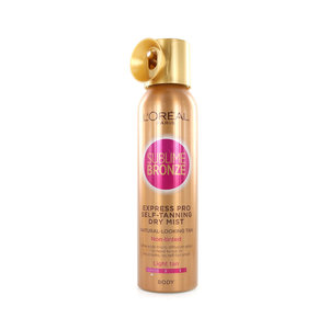 Sublime Bronze Express Pro Self-Tanning Dry Mist - Light Tan