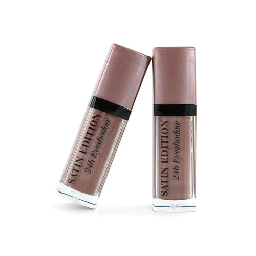 Bourjois Satin Edition 24H Oogschaduw - 03 Mauve Your Body (2 Stuks)