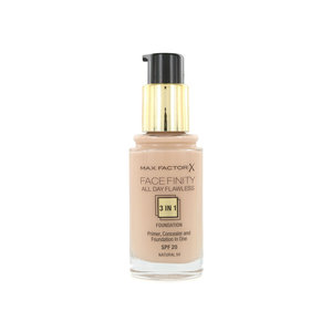 Facefinity All Day Flawless 3-in-1 Foundation - 50 Natural