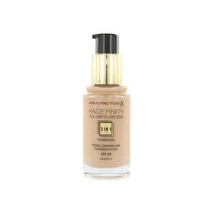 Facefinity All Day Flawless 3-in-1 Foundation - 75 Golden