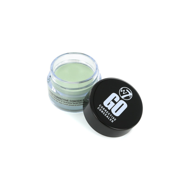 W7 Go Corrective Concealer Red Spots - Green