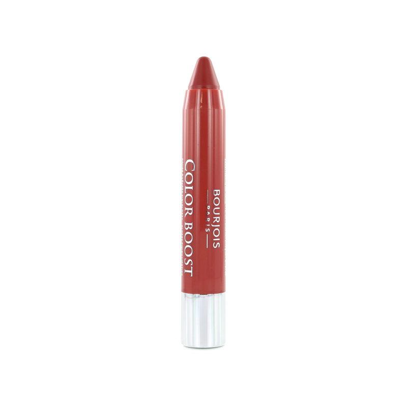 Bourjois Color Boost Glossy Finish Lipstick - 008 Sweet Macchiato