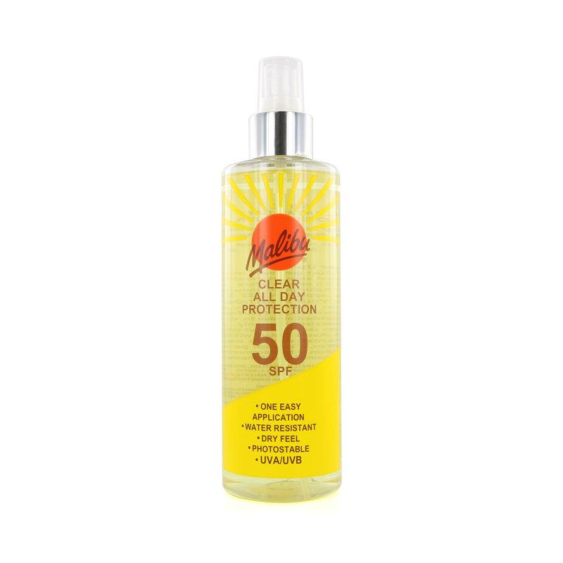 Malibu Clear All Day Sun Protection - SPF 50