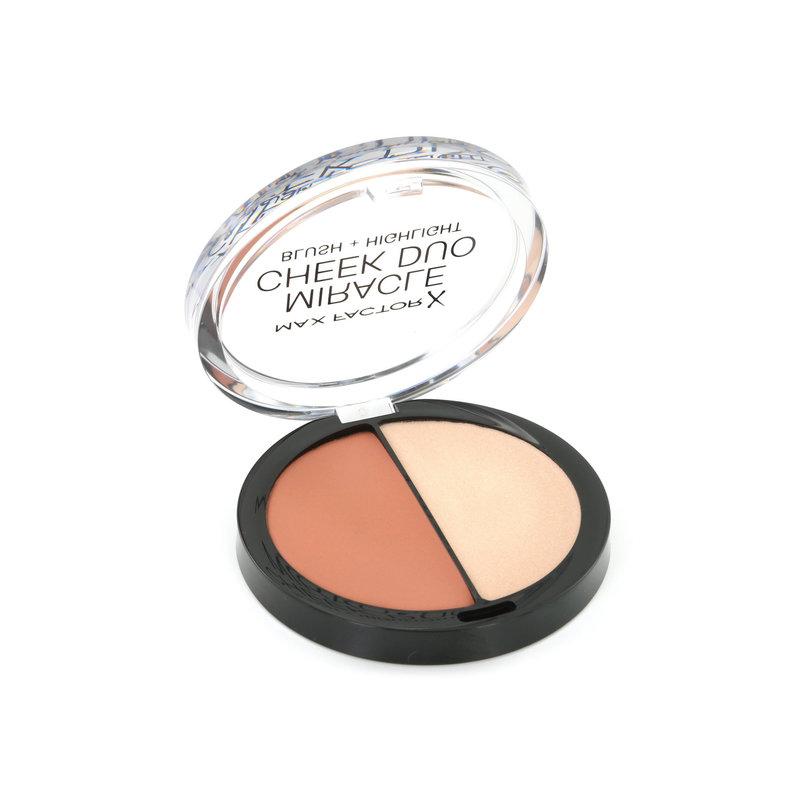 Max Factor Miracle Cheek Duo - 20 Brown Peach & Champagne