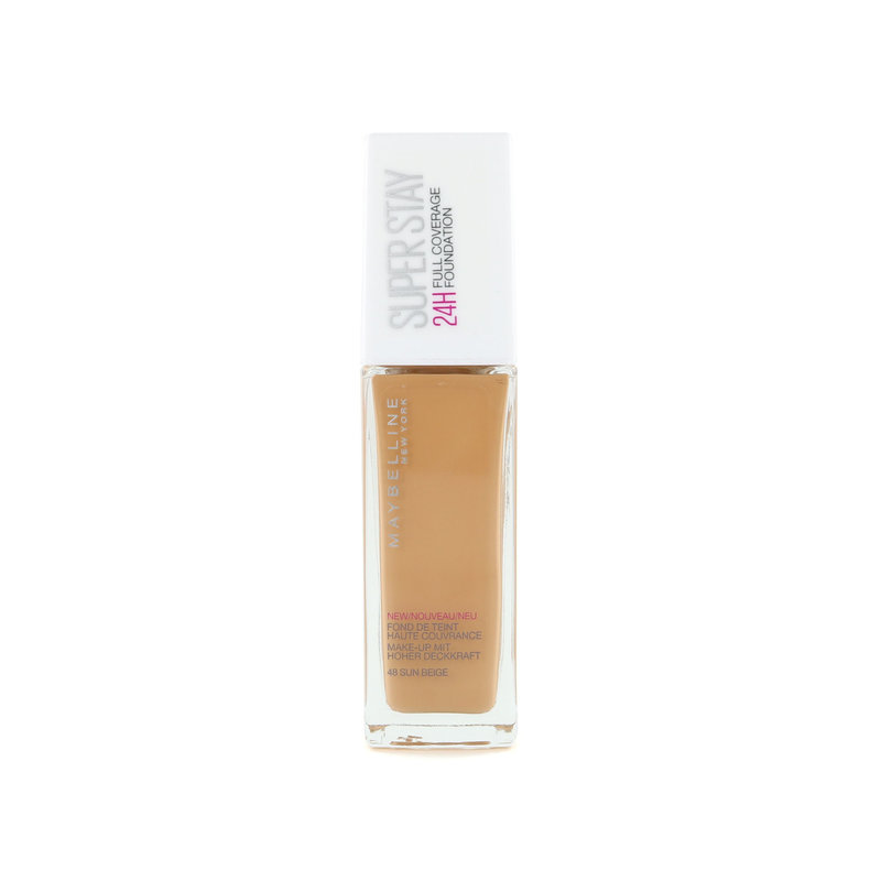 Maybelline SuperStay 24H Full Coverage Foundation - 48 Sun Beige