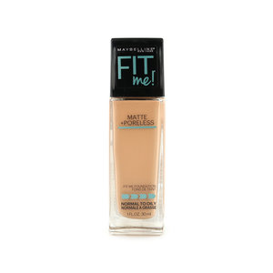 Fit Me Matte + Poreless Foundation - 320 Natural Tan (voor normale tot vette huid)