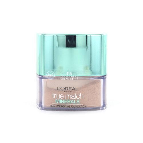 L'Oréal True Match Minerals Poeder Foundation - 3.N Creme Beige