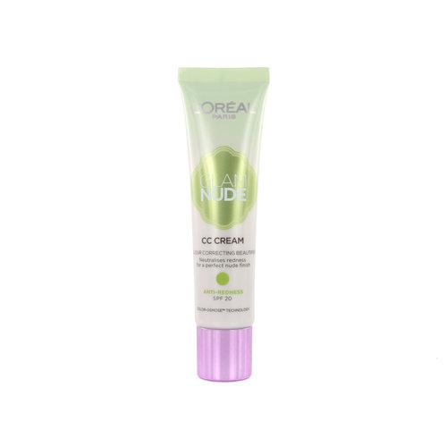 L'Oréal Glam Nude CC Cream - Anti-Redness