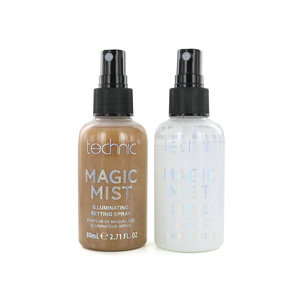 Magic Mist Illuminating Setting Spray - 24K Gold-Irisdescent (set van 2)