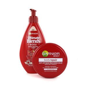 Bodyrepair & Ultimate Blends Body Lotion en Body Cream - 250 ml + 200 ml