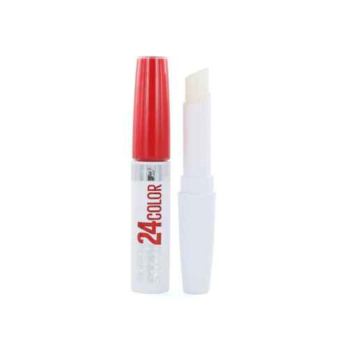 Maybelline Superstay 24H Lipstick - 553 Steady Red-Y
