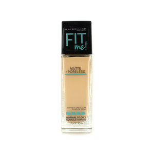 Fit Me Matte + Poreless Foundation - 128 Warm Nude (voor normale tot vette huid)