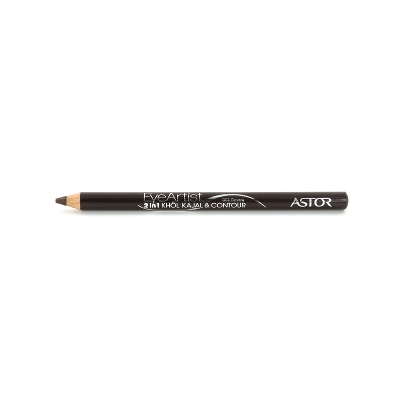 Astor Eye Artist 2in1 Khol Kajal & Contour Oogpotlood - 081 Brown