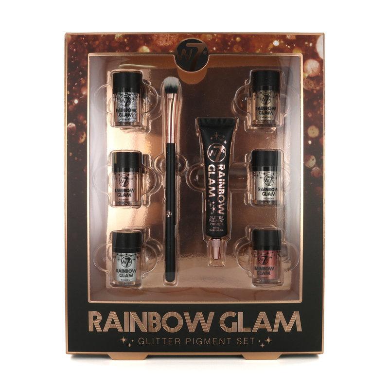 W7 Rainbow Glam Glitter Pigment Geschenkset